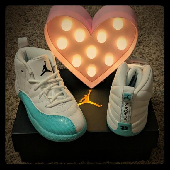 sale retailer 8f9e4 fd5b0 Jordan 12 Retro Toddler Shoes. NWT. Nike
